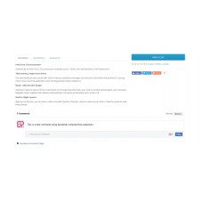 Facebook Comment Box in product page