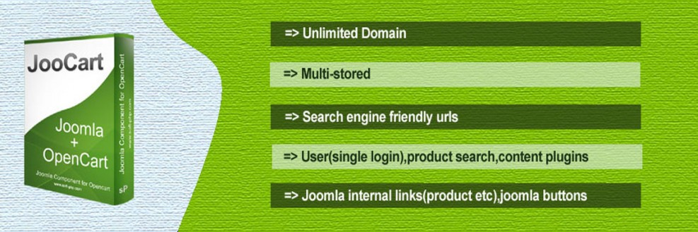 JooCart-Joomla Shopping Cart and e-Commerce