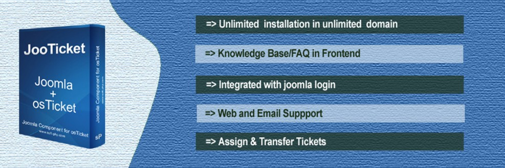 JooTicket-Joomla Support Ticket